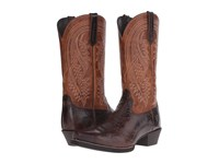 Ariat Revolution Thunder Brown Two Tone Tan Cowboy Boots