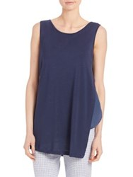 Max Mara Side Insert Tank Top Ultramarine