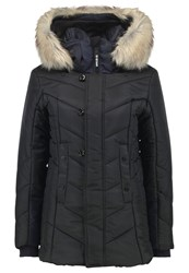 G Star Gstar Alaska Fur Hdd Coat Winter Jacket Black