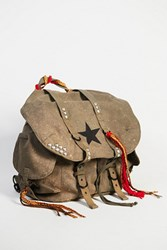 Free People Womens Josie Embellished Backpac