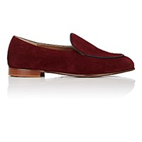 Soloviere Men's Otto Ba Belgian Loafers Burgundy