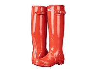 Hunter Original Gloss Tent Red Women's Rain Boots Orange