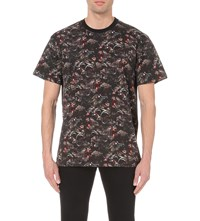 Givenchy Screeching Monkey Print T Shirt Black