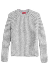 Hugo Knit Pullover With Alpaca And Wool Gr. Xs