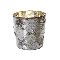 Flamant Home Interiors Coral Silver Stormlight 16Cm