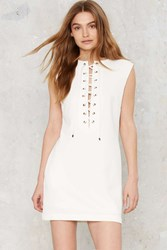 Corset For Success Mini Dress White