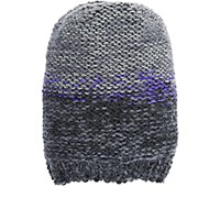Anna Kula Women's Hand Knit Beanie Purple