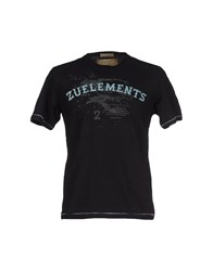 Zu Elements Zu Elements Topwear T Shirts Men Black