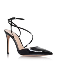Gianvito Rossi Carlyle Slingback 105 Shoes Female Black
