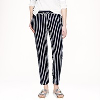 J.Crew Beach Pant In Stripe