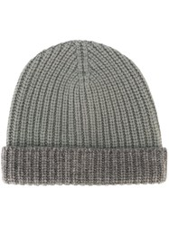 Eleventy Knitted Hat Green