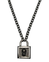 John Richmond Necklaces Steel Grey