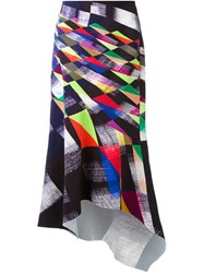 Manning Cartell 'Geometric Abstraction' Skirt Multicolour