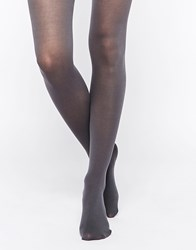 Jonathan Aston Finesse Opaque Cotton Tights Graphite