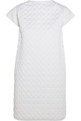 Vionnet Textured Cotton Jersey Tunic White