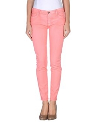 7 For All Mankind Denim Pants Coral