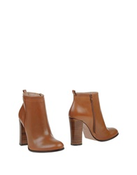 Hoss Intropia Ankle Boots Brown