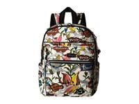 Sakroots Artist Circle Cargo Backpack White Peace Backpack Bags Multi