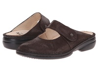 Finn Comfort Stanford Kaffee Points Women's Clog Mule Shoes Brown
