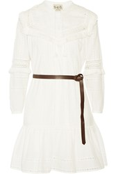 Sea Fringed Broderie Anglaise Cotton Dress