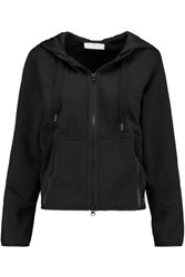 Adidas By Stella Mccartney Essentials Cotton Blend Hooded Sweatshirt Black