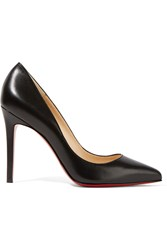 Christian Louboutin Pigalle 100 Leather Pumps Black