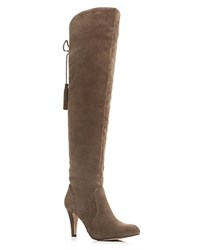 Vince Camuto Cherline Over The Knee High Heel Boots Brown