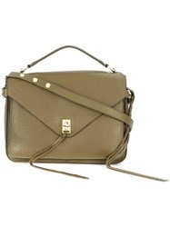 Rebecca Minkoff Top Handle Crossbody Bag Green