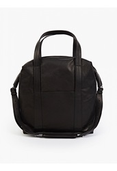 Maison Martin Margiela 11 Black Leather Overnight Bag