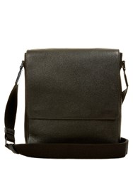 Mulberry Maxwell Grained Leather Messenger Bag Black