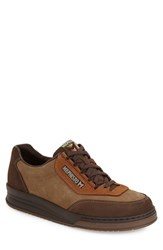 Men's Mephisto 'Match' Walking Shoe Dark Brown Camel Hazelnut