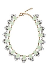 Stella Ruby Mint Green Statement Collar Necklace