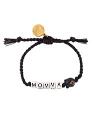 Venessa Arizaga 'Momma Bear' Bracelet Brown
