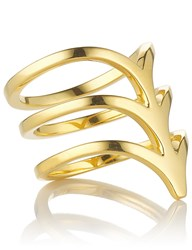 Smith Grey Gold Plated Silver Ella Ring