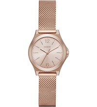 Dkny Ny2489 Parsons Stainless Steel Watch Rose Gold