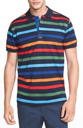 Men's Paul And Shark Stripe Polo