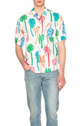 Our Legacy Tropic Shirt In White Abstract