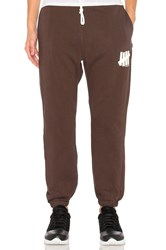 Undefeated 5 Strike Sweatpant Brown