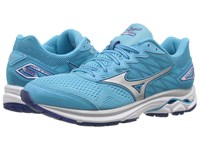 Mizuno Wave Rider 20 Blue Atoll Silver White Women's Running Shoes