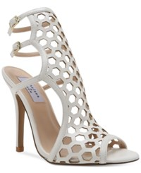 Chelsea And Zoe Elita Dress Sandals Women's Shoes White Smooth