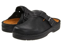 Naot Footwear Fiord Black Leather Men's Slip On Shoes