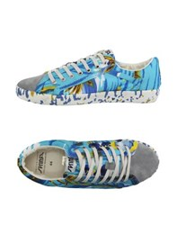 Springa Footwear Low Tops And Trainers Men Azure