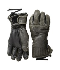 Celtek Aviator Gloves Aged Whiskey Over Mits Gloves Black