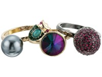 Betsey Johnson Butterflies Stackable Ring Set Multi Ring