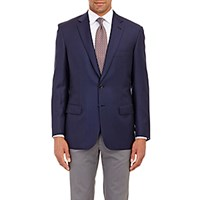 Brioni Men's Twill Colleseo Two Button Sportcoat Navy
