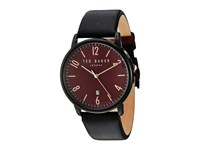 Ted Baker Classic Black Red Watches