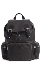 Burberry Men's Leather Backpack