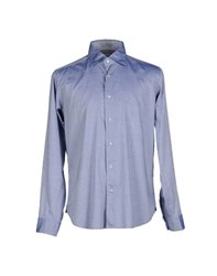 Agho Shirts Shirts Men Sky Blue