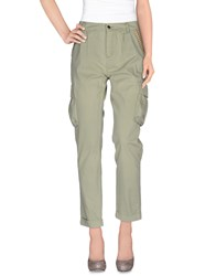Fracomina Trousers Casual Trousers Women Light Green