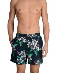 Marc By Marc Jacobs Swimwear Swimming Trunks Men Dark Blue